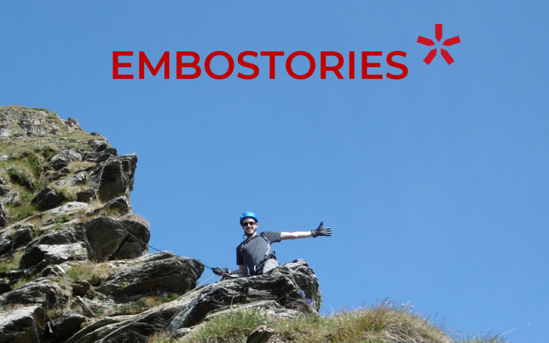 "Meet our team in ""EMBOSTORIES"""