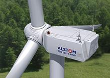 Alstom Windturbine